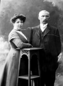 Демин с супругой